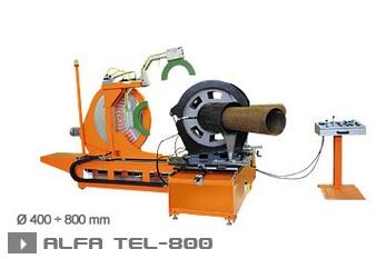 Машина для сварки оболочек для труб ALFA TEL  800