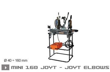 Сварочная машины MINI 160 JOYT и MINI 160 JOYT ELB