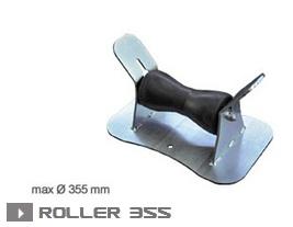 Опора для труб роликовая Roller 355