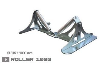 Опора для труб роликовая Roller 1000