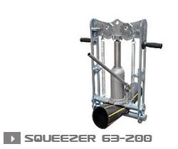 SQUEEZER 63-200 гидравлический зажим