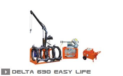 Ritmo Delta 630 easy life стыковая сварка для труб
