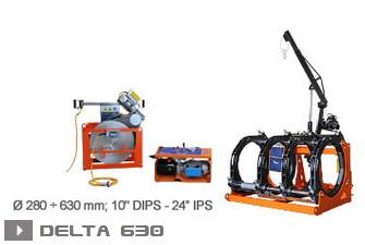 Ritmo Delta 630 машина стыковой сварки