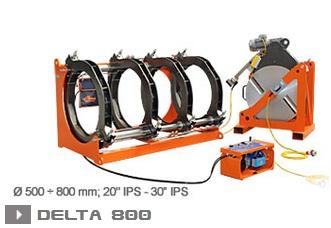 Ritmo Delta 800 машина стыковой сварки