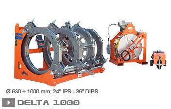 Ritmo Delta 1000 машина стыковой сварки