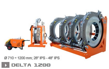 Ritmo Delta 1200 машина стыковой сварки
