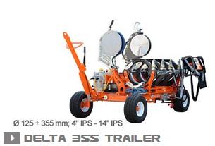 Машина стыковой сварки Ritmo Delta 355 Trailer