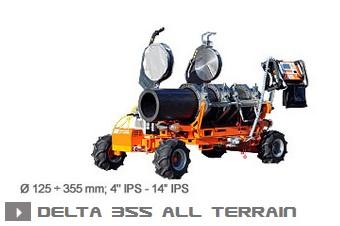 Машина стыковой сварки Ritmo Delta 355 All Terrain