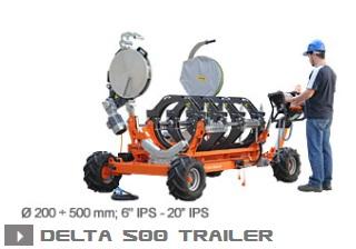 Машина стыковой сварки Ritmo Delta 500 Trailer