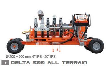 Машина стыковой сварки Ritmo Delta 500 All Terrain