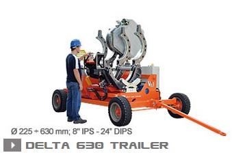 Машина стыковой сварки Ritmo Delta 630 Trailer