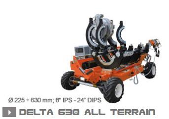 Машина стыковой сварки Ritmo Delta 630 All Terrain