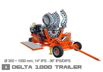Машина стыковой сварки Ritmo Delta 1000 Trailer