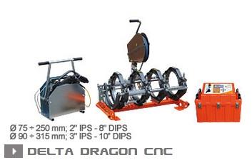 Машина стыковой сварки Ritmo Delta Dragon CNC