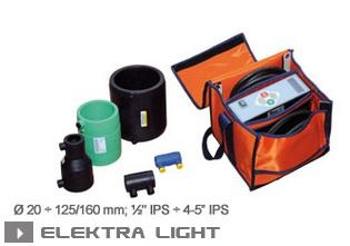 Электромуфтовая сварка Ritmo Elektra Light