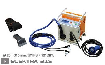 Электромуфтовая сварка Ritmo Elektra 315