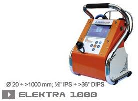 Электромуфтовая сварка Ritmo Elektra 1000