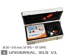 Электромуфтовая сварка Ritmo universal 315 V1