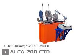 Машина для производства фитингов Alfa 200 CTВ