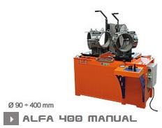Машина для производства фитингов Alfa 400 CTВ
