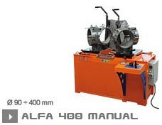 Машина для производства фитингов Alfa 400 Manual
